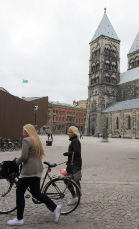 Lund Cathedral square
