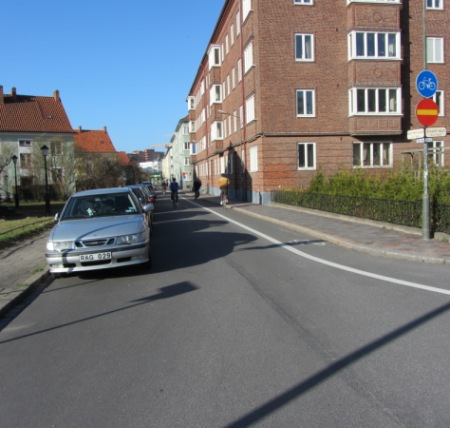 Malmo contraflow