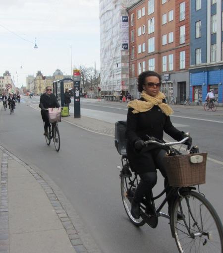 Norrebrogade cyclists