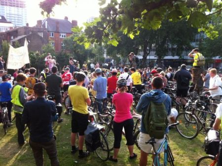LCC Space 4 Cycling ride. Picture: Matt Saywell, http://ow.ly/i/2AX5v