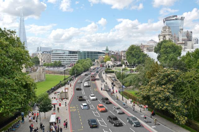 Superhighway plans, Tower Hill