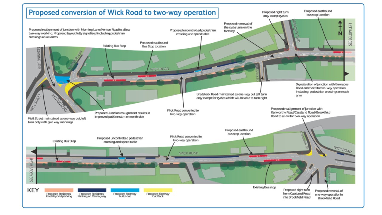 The Wick Road plans.