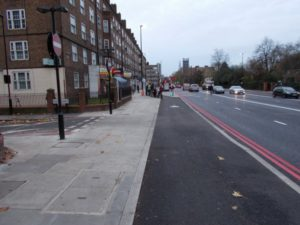 Continuous footway and cycleway (image: Ranty Highwayman)